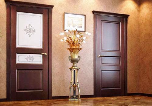 Входные и межкомнатные двери из массива сосны, алюминиевые, пвх