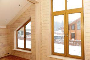 Деревянные окна из лиственицы