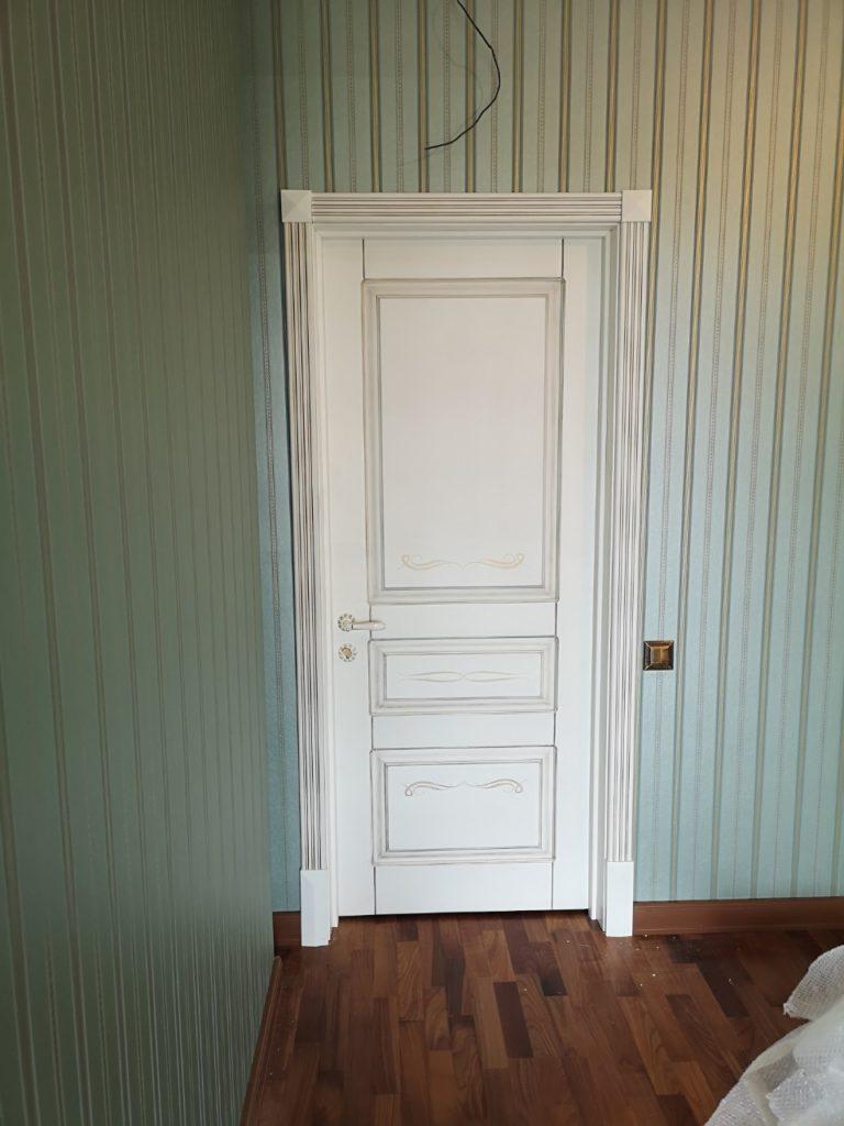 Изготовление и установка межкомнатных дверей из массива