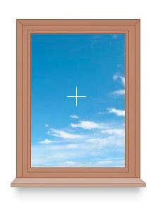 Глухое одностворчатое окно, окно по индивидуальным размерам