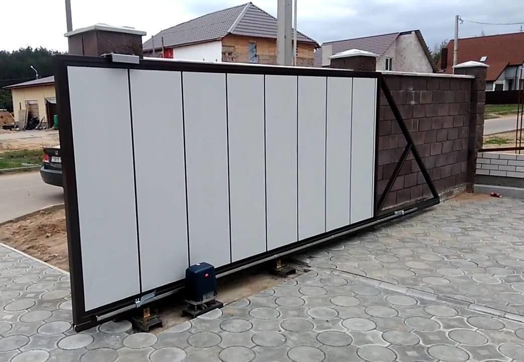 Ворота откатные и гаражные