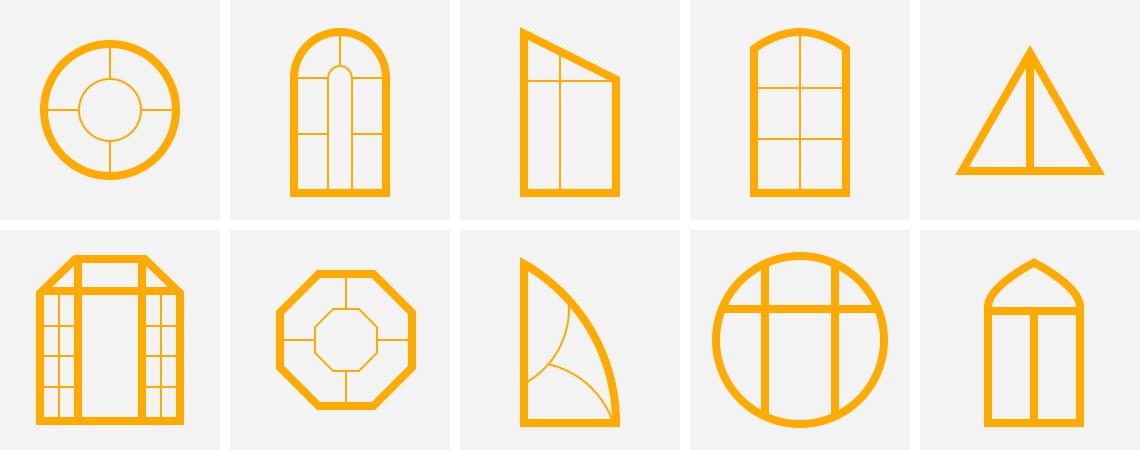 окна нестандартной формы минск