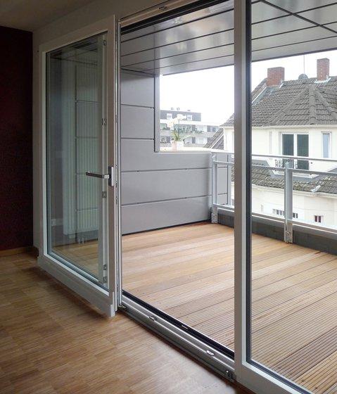 Параллельно сдвижные оконно-дверные конструкции PSK