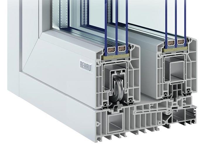 Подъемно-сдвижные двери HST Geneo